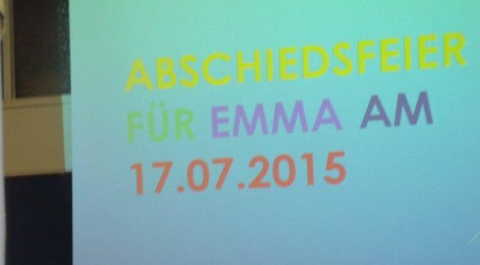 Abschiedsfeier für Emma